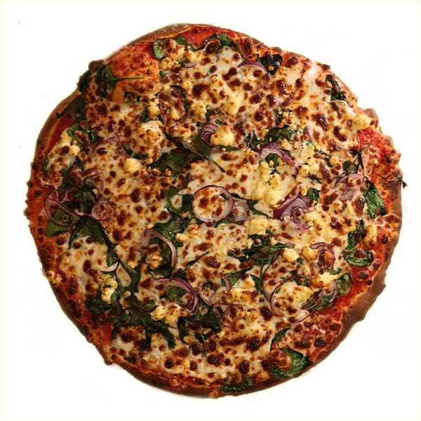 24/7 Pizza - Spinach & Feta